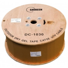 DC-1030 - Outdoor CAT5e UTP - Dry Gel Tape - Dual Jacketed - 3000ft Spool